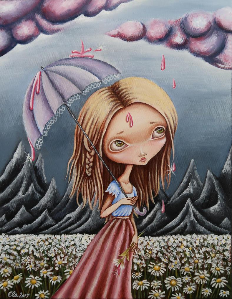 Pink Rain by ElaTell