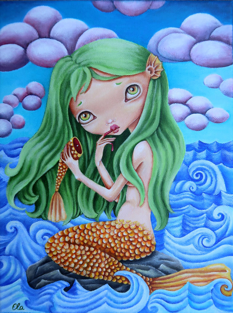 The Little Mermaid by ElaTell