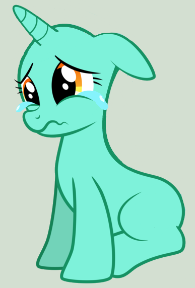 The gallery for --> Depressed Pony Base