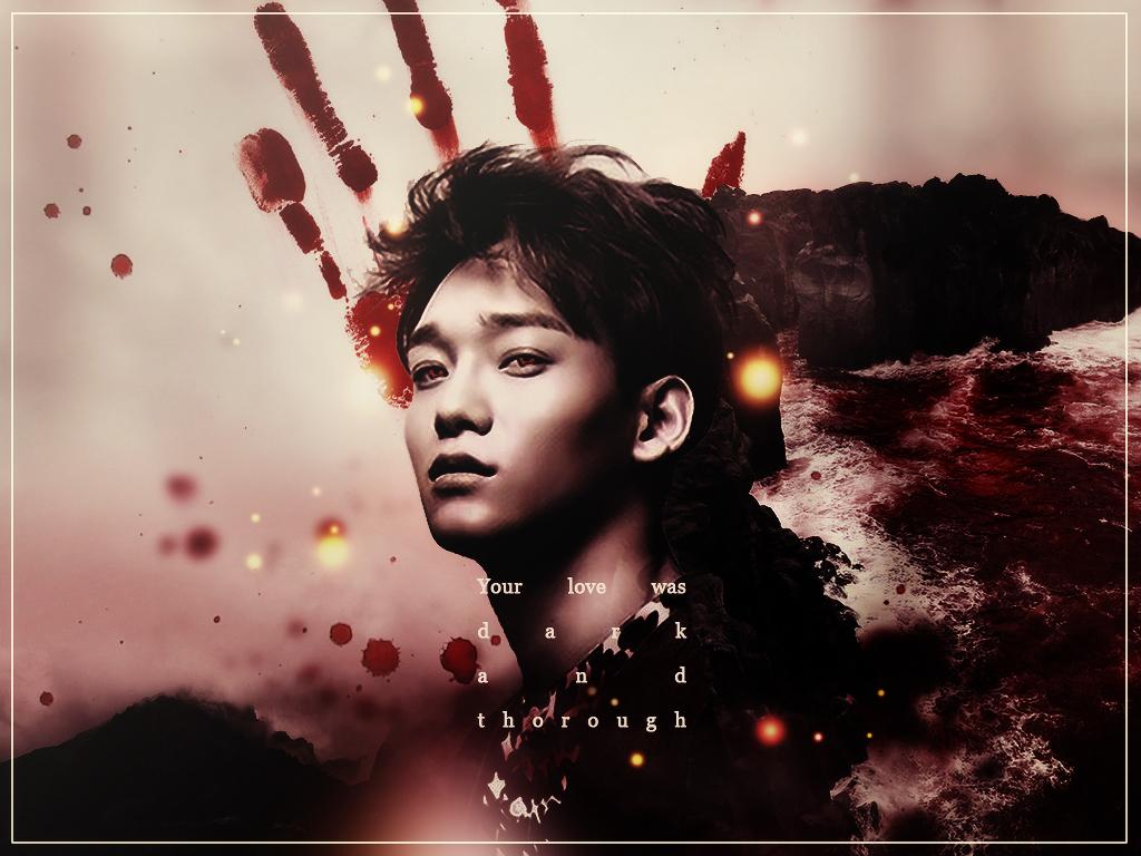 Kim Jongdae | dark love by xbloodyann - 562.1KB