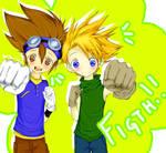 Digimon:. Tai and Matt