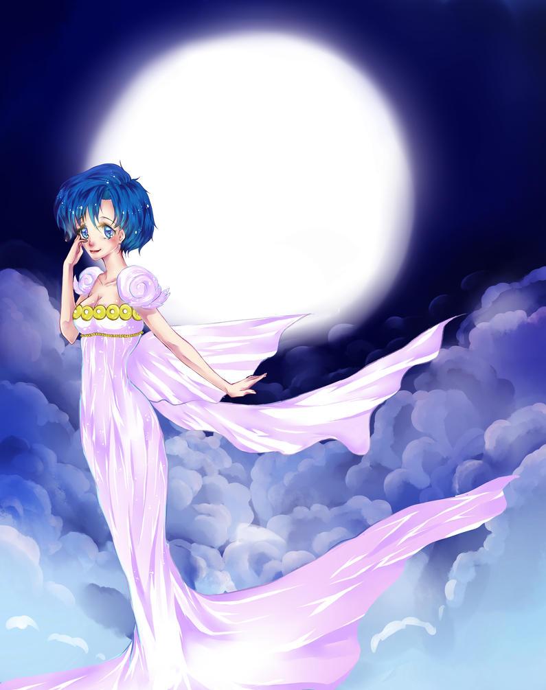 Sailor Mercury by nagic-nilo