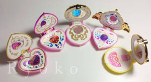 Sailor Moon Brooches - customized -
