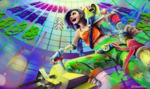 League of Legends - Arcade Jinx