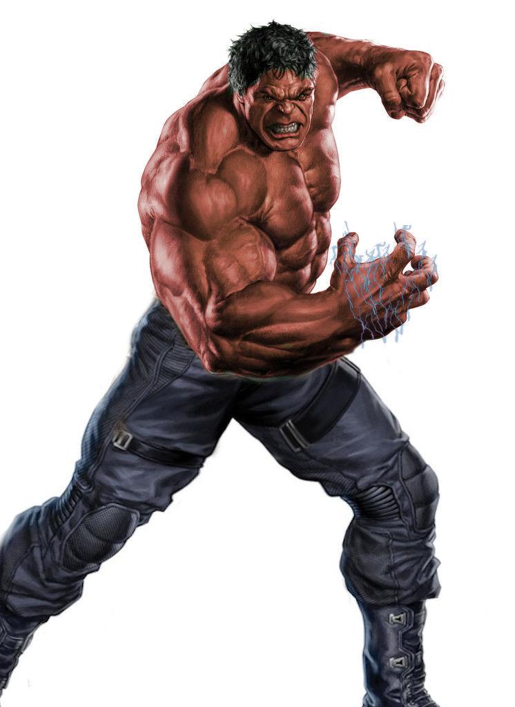 Avengers Red Hulk by Perkunasloki on DeviantArt