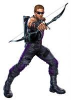 Hawkeye (Clint Barton) by Perkunasloki
