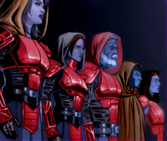 Imperial Knights (Recolor) by Perkunasloki on DeviantArt Jabba The Hutt And Leia Fanfiction
