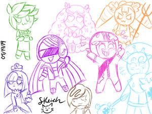Cookie Run Doodles