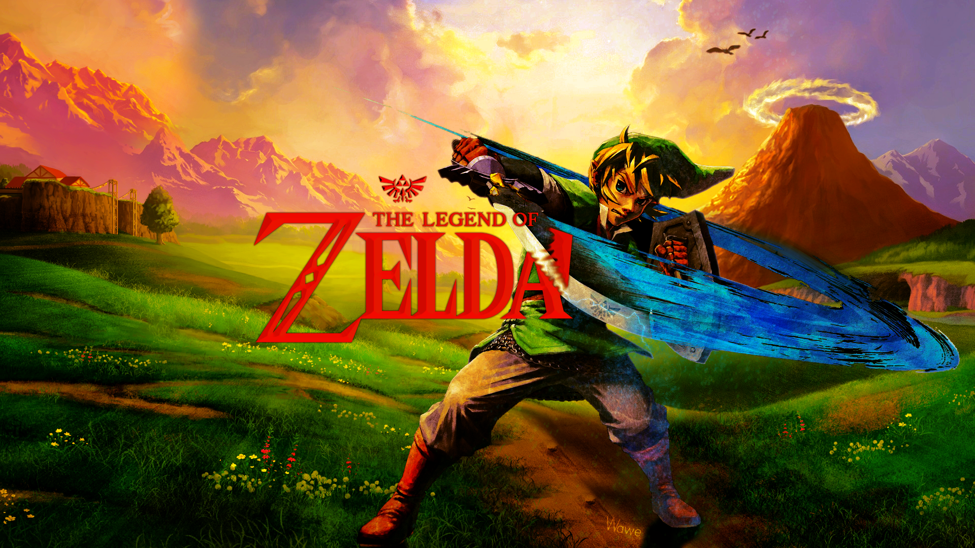 Legend of Zelda Wallpaper by WaweAKAExrel on DeviantArt