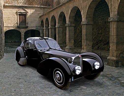 38 bugatti 57sc atlantic coupe by photoillustrators