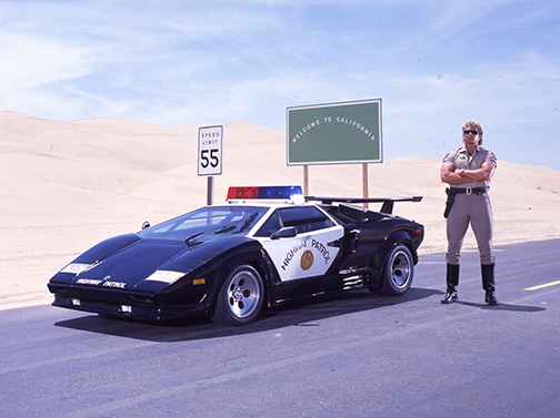 Lamborghini Cop Car With Cop By Photoillustrators On Deviantart