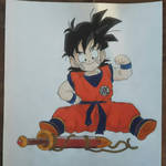 Gohan kid by M-art-ique
