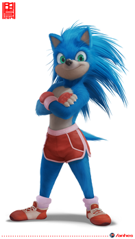 Sonic (the movie) - redesign