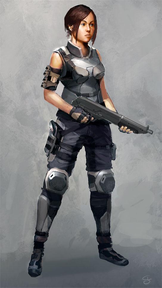 Swat Girl 02 by SLabreche