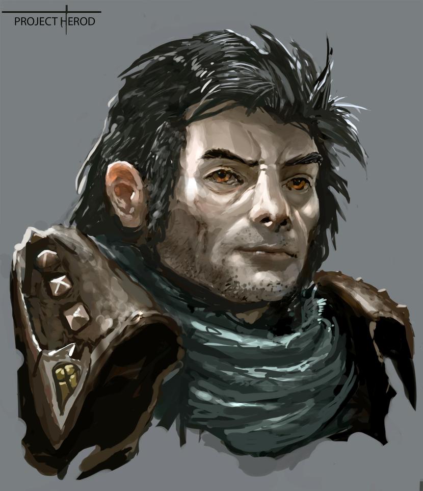 Herod Portrait by SLabreche