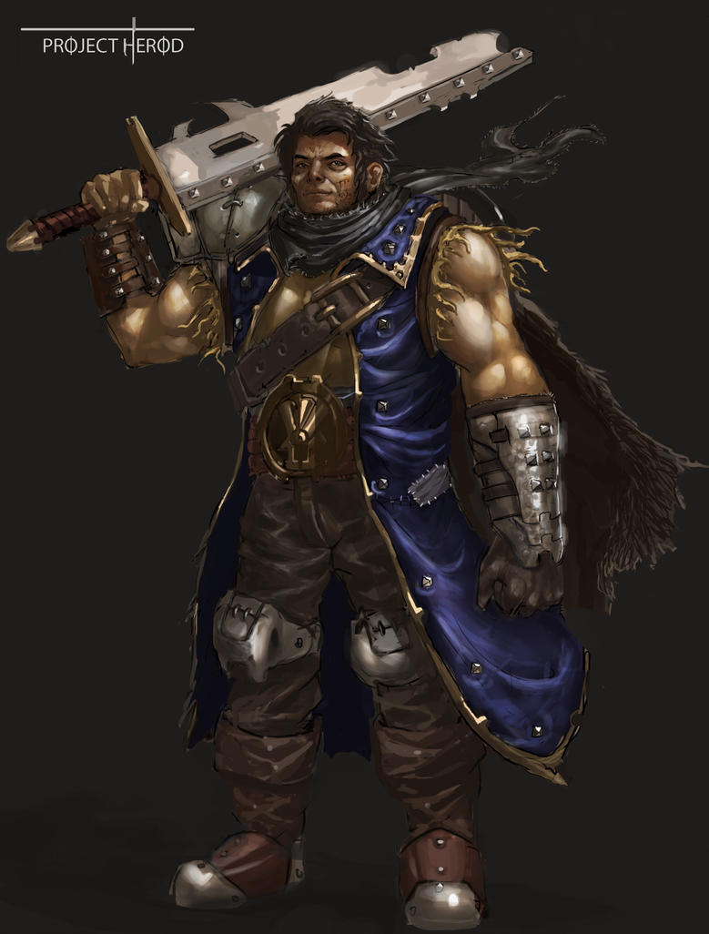 Herod Main Character by SLabreche