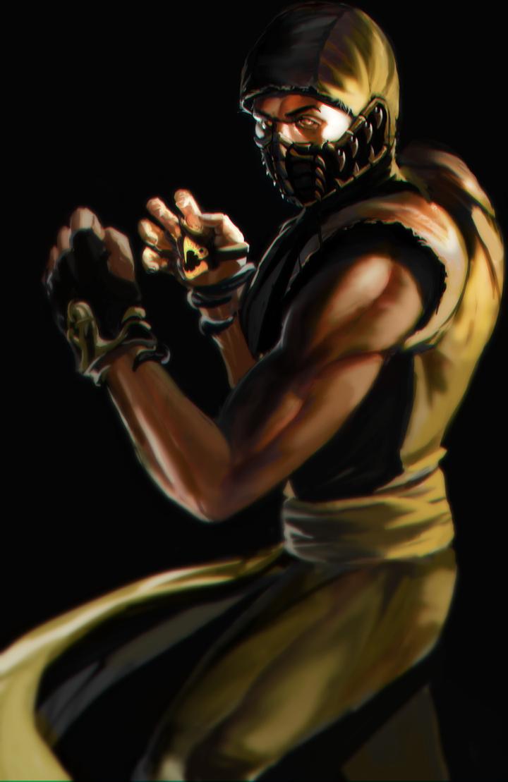 Scorpion FANART by SLabreche