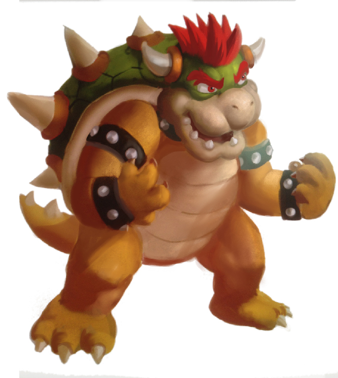 Bowser - Fan art piece by SLabreche