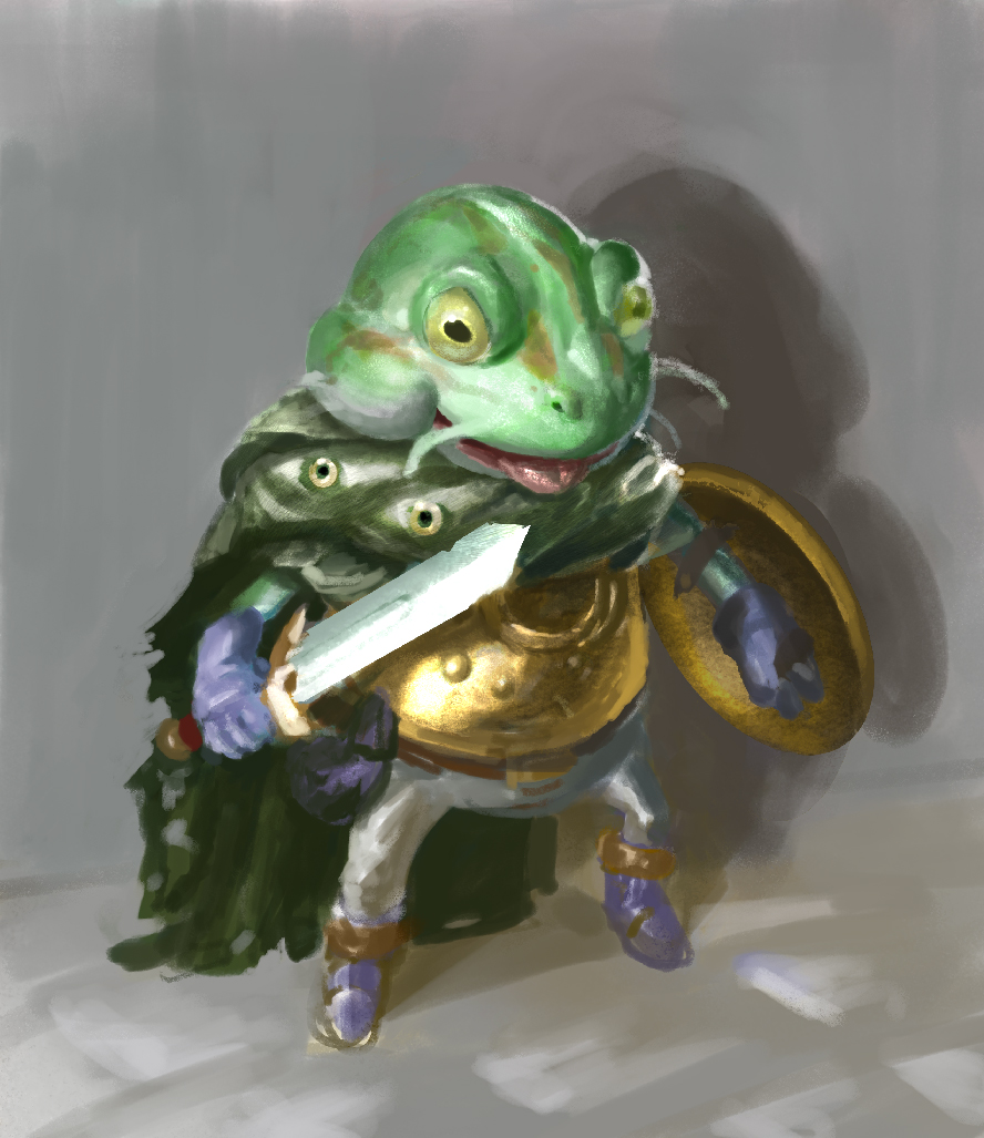 Chrono Frog! by SLabreche