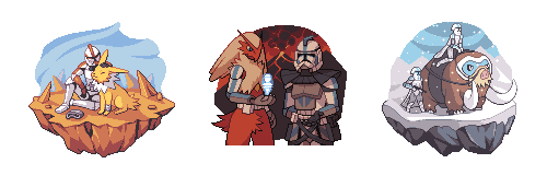 Clonetroopers with Pokemon by JJoploo47