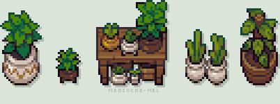 Plants by Mediocre-Mel