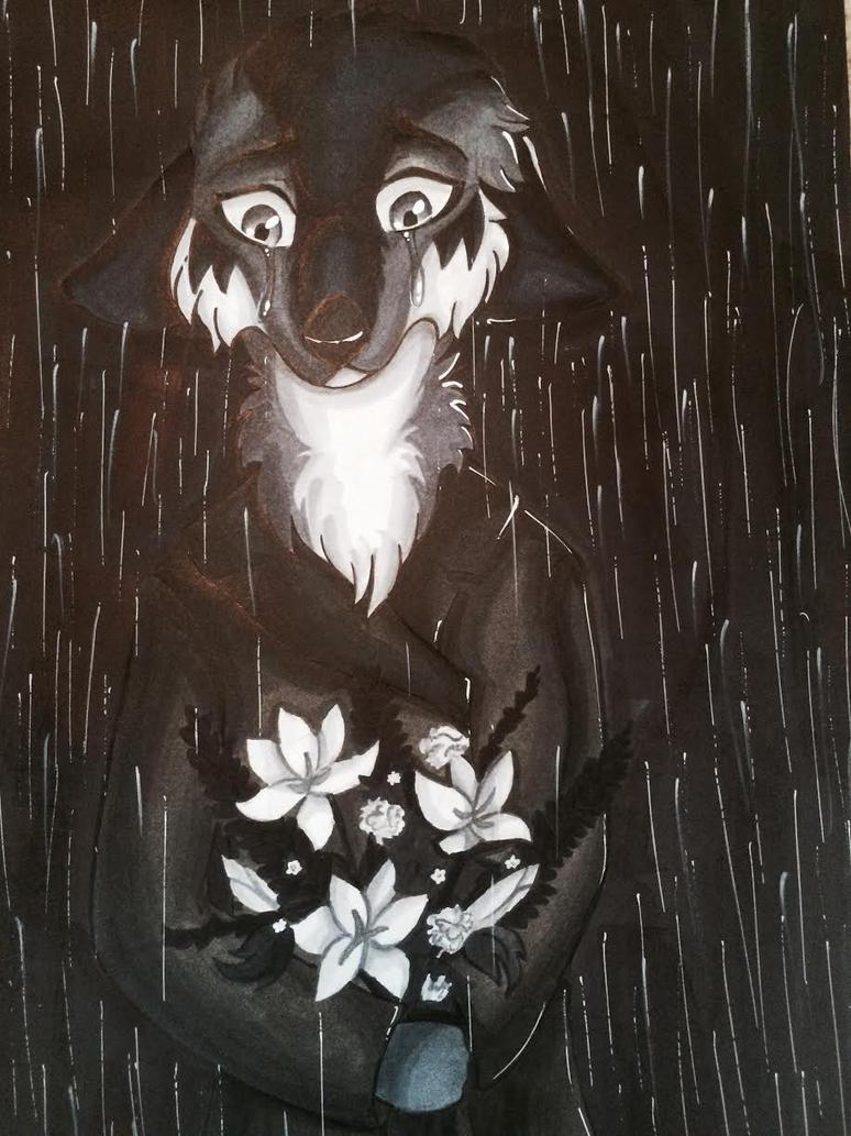 Rain by 7heShadowWolf