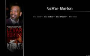 LeVar Burton Wallpaper 2 by jadzii