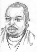 LeVar Burton Portrait by jadzii