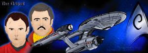 Engineers of Star Trek - TOS by jadzii