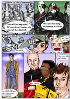 Borg vs. Cybermen by jadzii