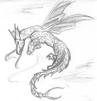 my first Dragon by jadzii