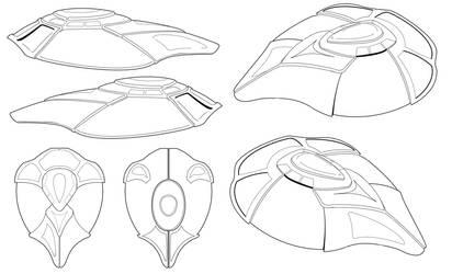 the hidden Thruth - Spaceship by jadzii
