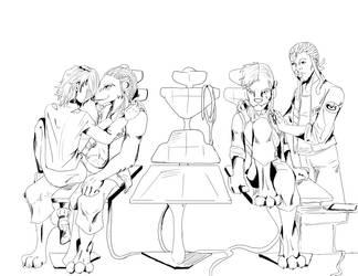 the hidden Thruth - sketch by jadzii