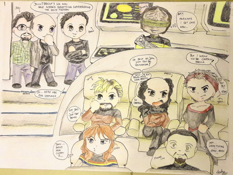 what happens at FedCon by jadzii
