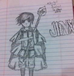 Jinx's Magic by cartoonlovinggal