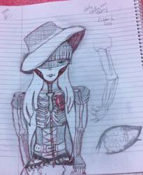 Early Halloween Drawing by cartoonlovinggal