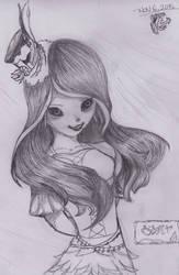 Late Halloween Drawing by cartoonlovinggal