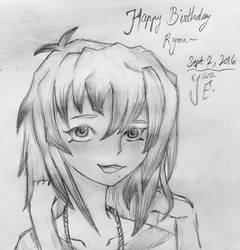 Happy Late Birthday, RYOU MY CHILD by cartoonlovinggal