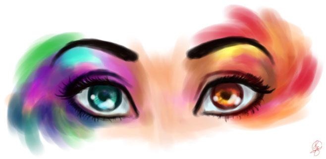 Eyes by AmeliaJo
