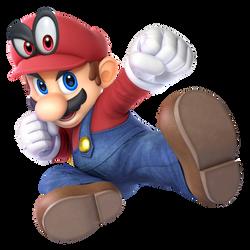Cappy Mario Edit (Super Smash Bros. Ultimate) by SVG360