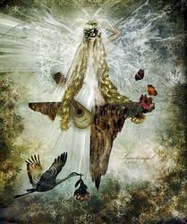 To little Sweetangel by CindysArt