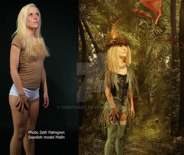 Robin Hid original by CindysArt