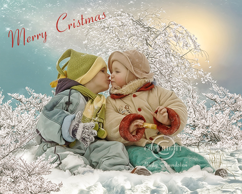 Merry Christmas lovely friends by CindysArt