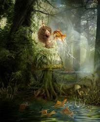 Magic world by CindysArt