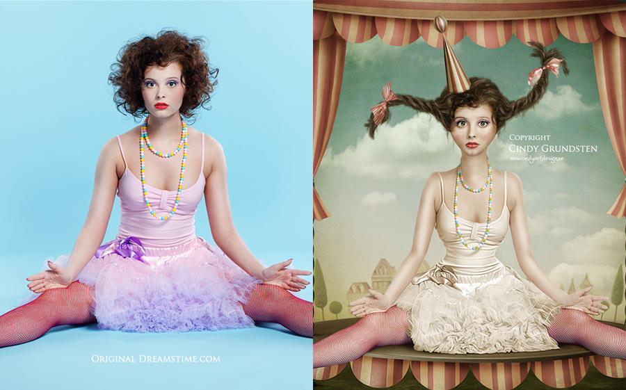 More Dolls before and after by CindysArt