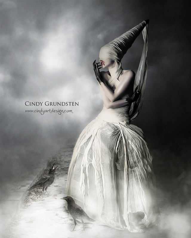 Bride III by CindysArt