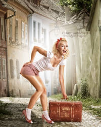 New in town by CindysArt