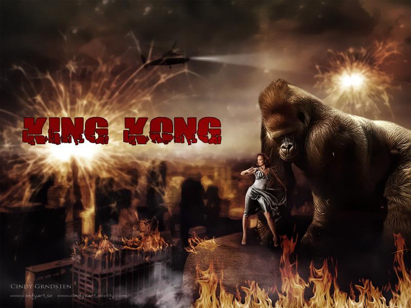 King Kong by CindysArt
