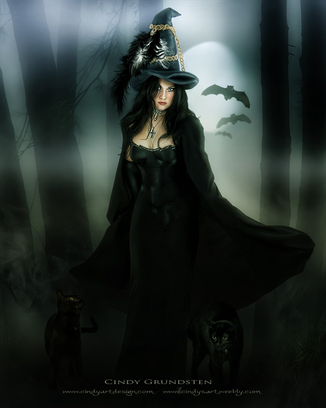 Beautiful Witch By CindysArt On DeviantArt
