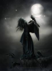 Help me fly again by CindysArt
